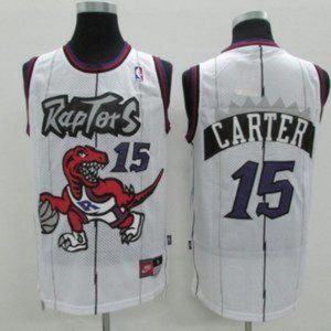 New NBA Toronto Raptors Vince Carter Jersey #15